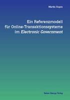 Buchcover von Ein Referenzmodell für Online-Transaktionssysteme